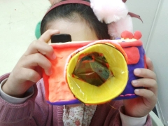 "Craft Making_""Cool Camera"""