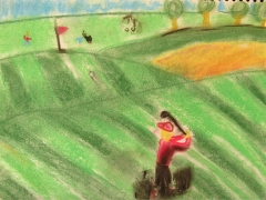 "Landscape_""Golf Day"""