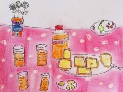 """Still Life Drawing_""""Breakfast"""""""
