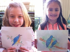 """Watercolour Painting_""""Birds""""_Examples"""