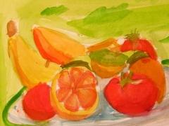 Still Life Painting_Fruits