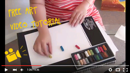 How to use soft pastels for colour exploring